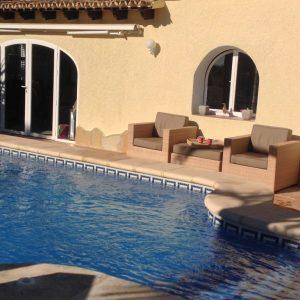 Aangepast Zwembad Bij Villa Los Leones