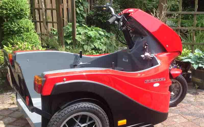 Pendaal rolstoelscooter